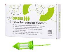 Orbis sugefilter, grøn, engangs, 12stk