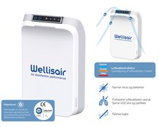 Wellisair luftdesinfektor, WADU-02, 1stk