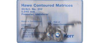 Forkonturerede matricebånd