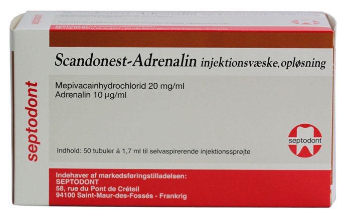 Scandonest-Adrenalin, produktresumé