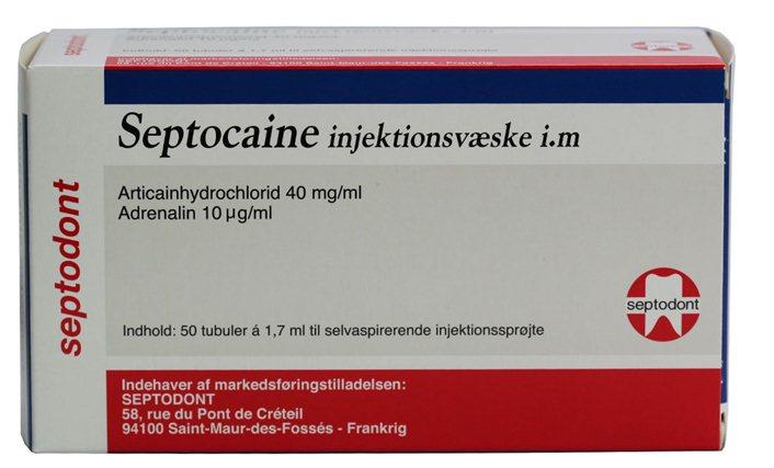 Septocaine, produktresumé